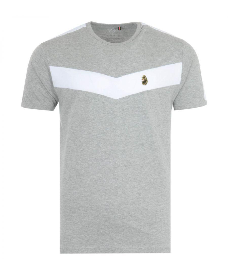 Image for Luke 1977 Calvia Chevron T-Shirt - Grey