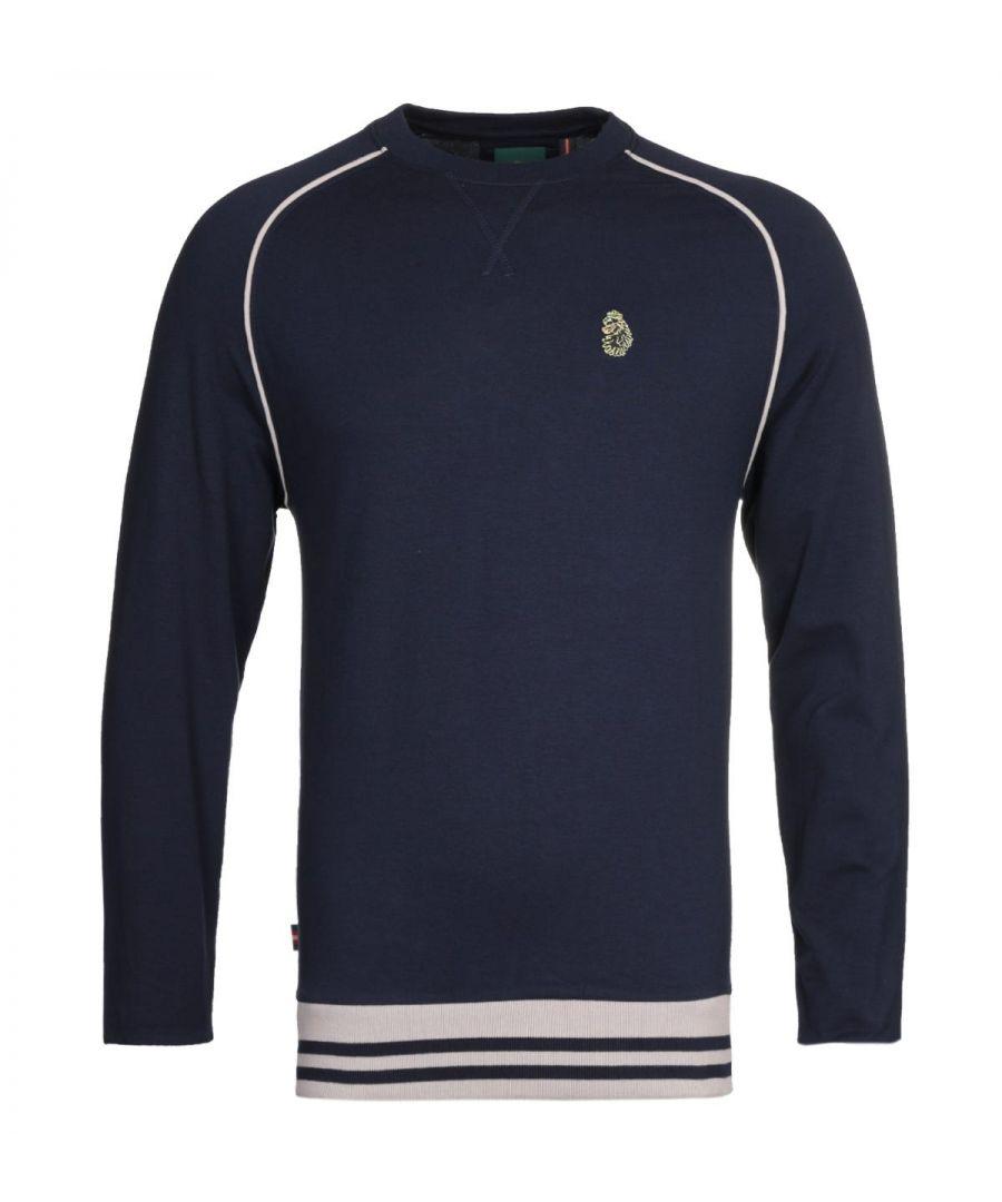 Image for Luke 1977 Owl Lair Navy Sweatshirt