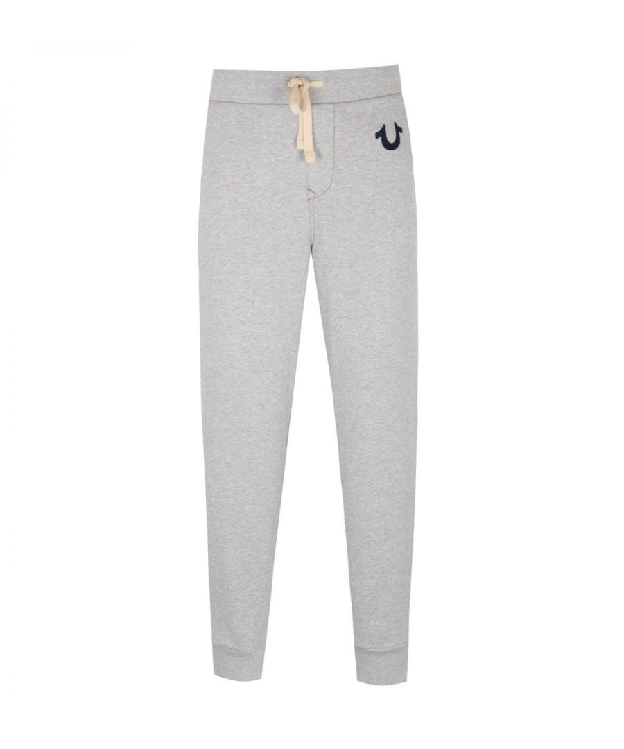 Image for True Religion Classic Horseshoe Logo Oatmeal Marl Sweatpants