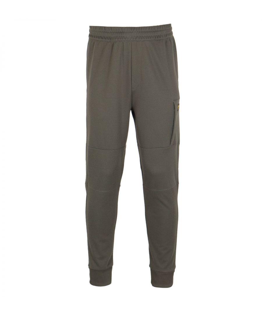Image for Lyle & Scott Olive Pocket Sweatpants