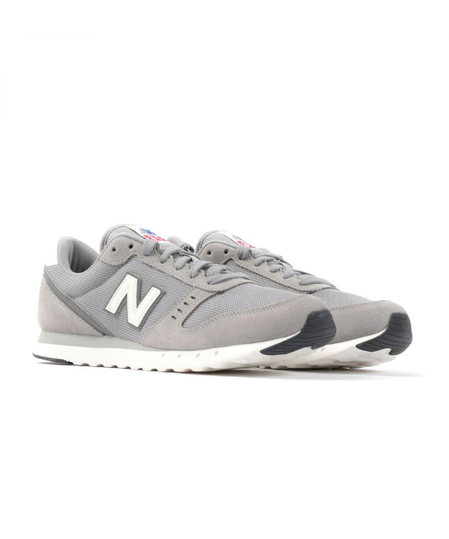 Image for New Balance 311v2 Suede Trainers - Team Away Grey with Castlerock