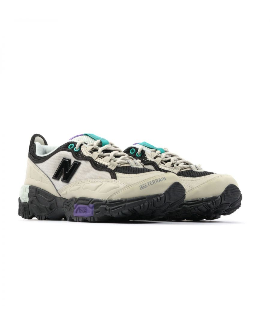 Image for New Balance 801 Mesh Trail Shoes - Stone Grey