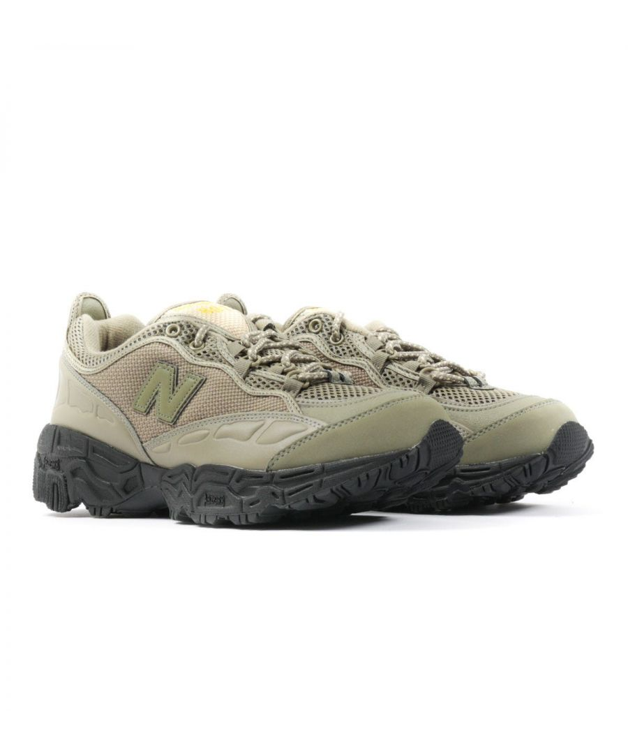 Image for New Balance 801 Mesh Trail Shoes - Olive