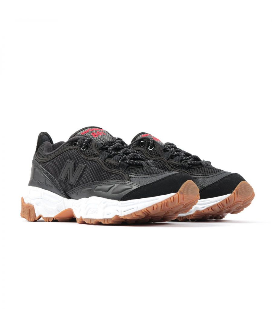 Image for New Balance 801 Mesh Trail Shoes - Black