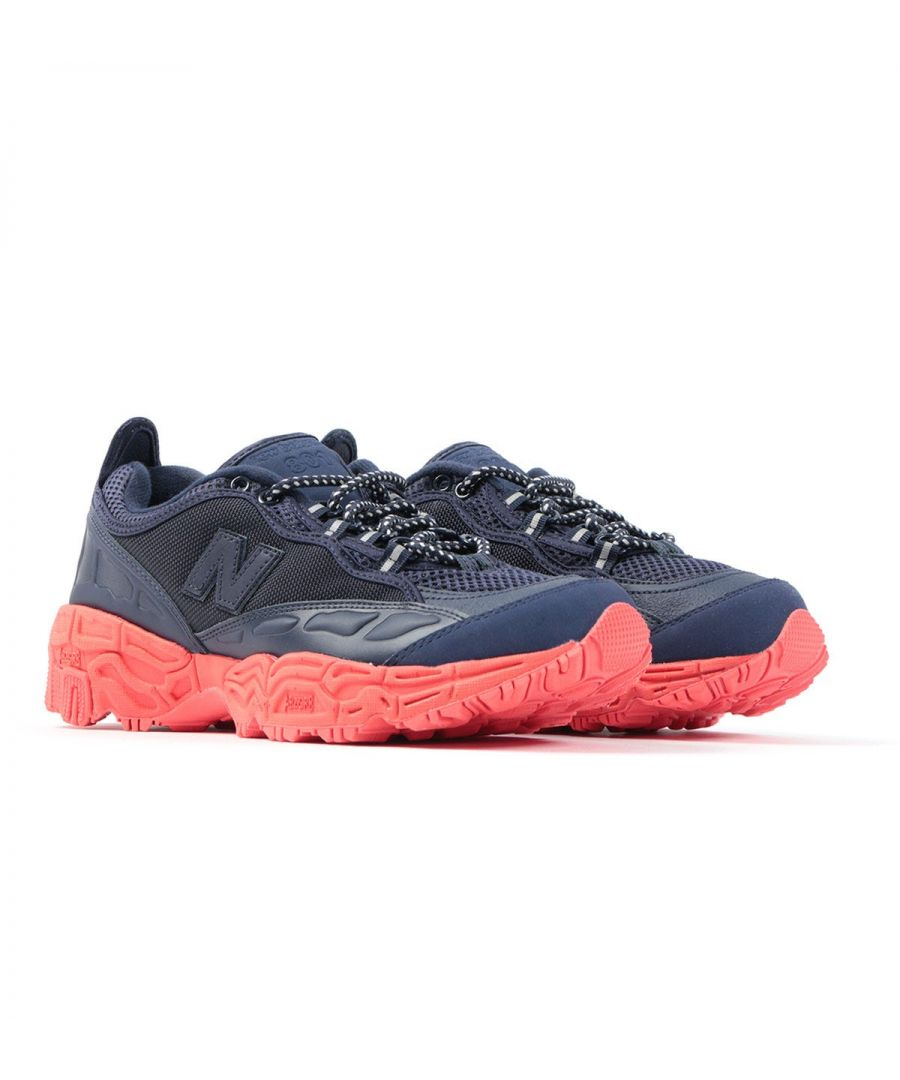 Image for New Balance x Herschel 801 \'Night Lights\' Trail Shoes - Navy & Red