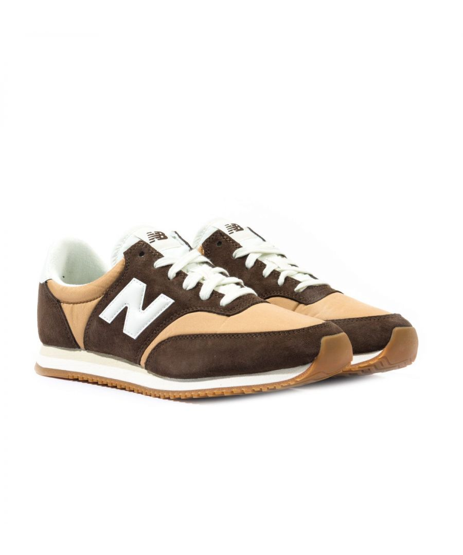 Image for New Balance MLC100 Brown Suede Trainers