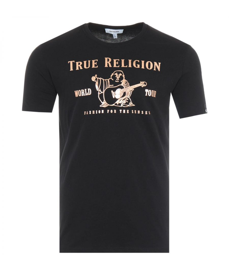 Image for True Religion Chad Core T-Shirt - Black