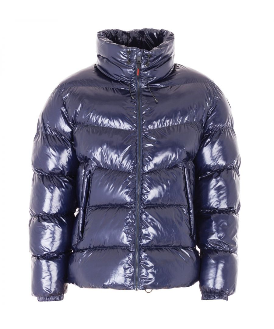 Image for Napapijri Loyly Shiny Jacket - Marine Blue