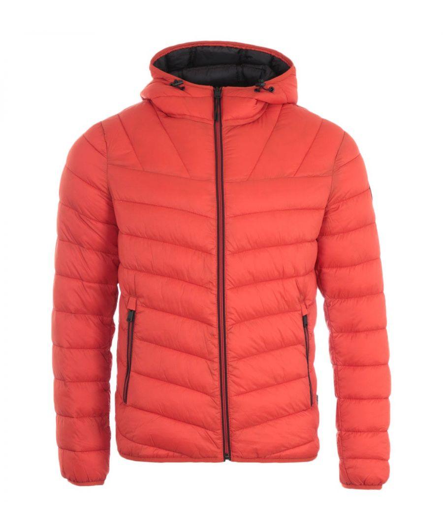 Image for Napapijri Aerons Hooded Jacket - Orange