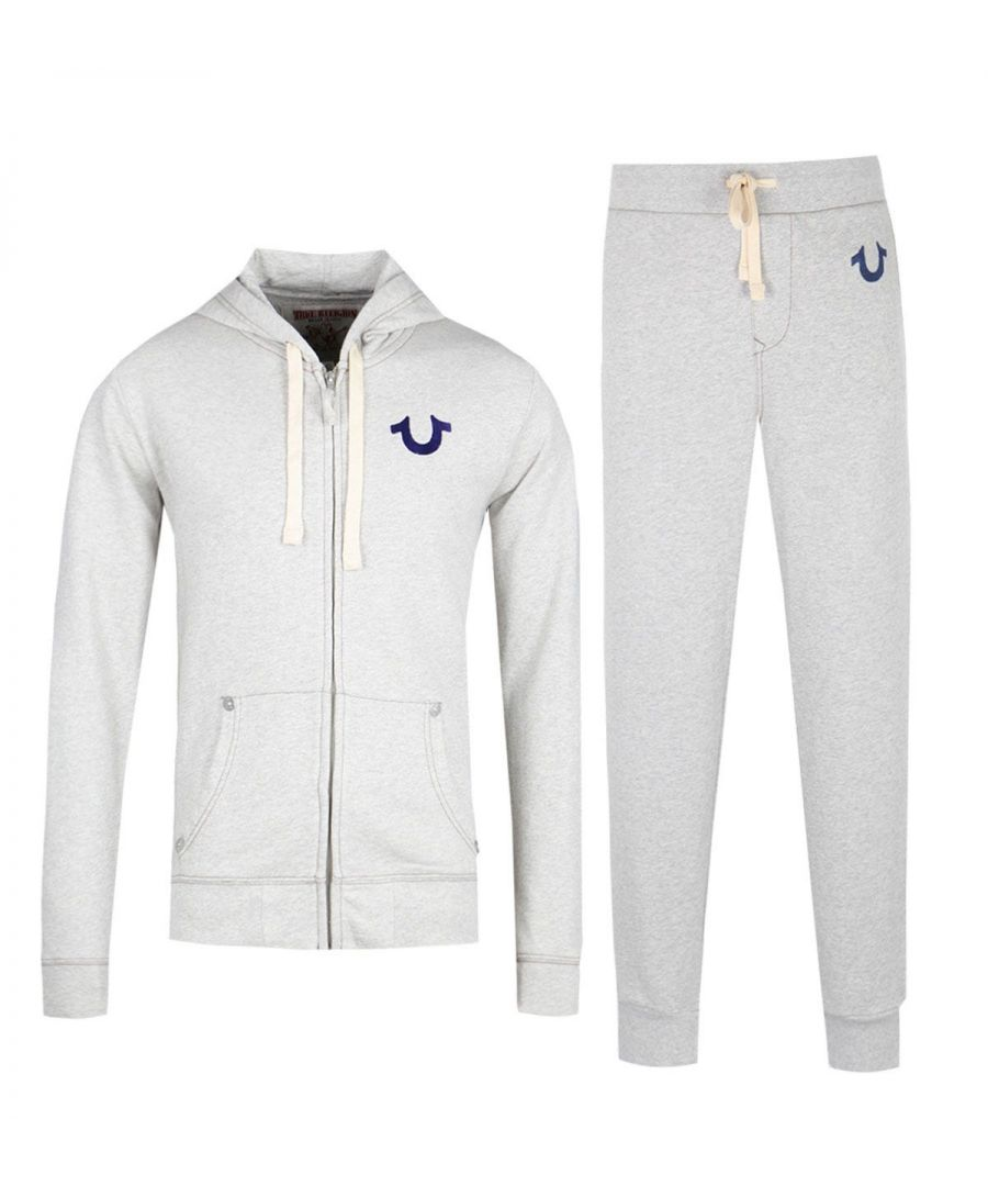 Image for True Religion Oatmeal Logo Tracksuit