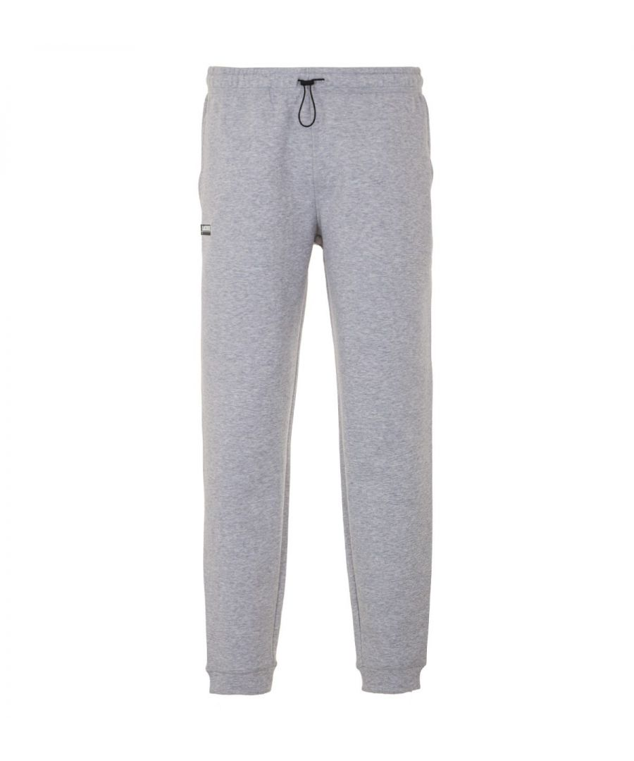 Image for Lacoste Contrast Accent Joggers - Grey Marl