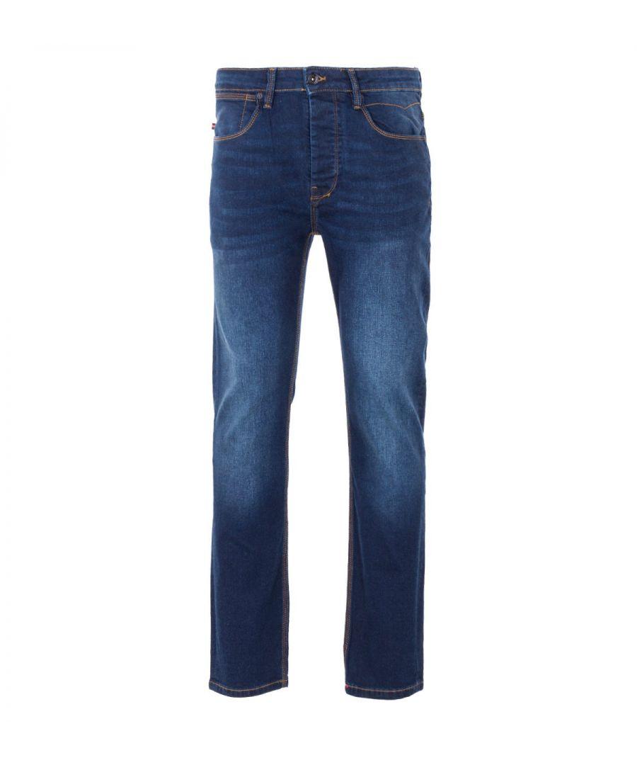 Image for Luke 1977 Freddys Slim Straight Fit Jeans - Blue Black