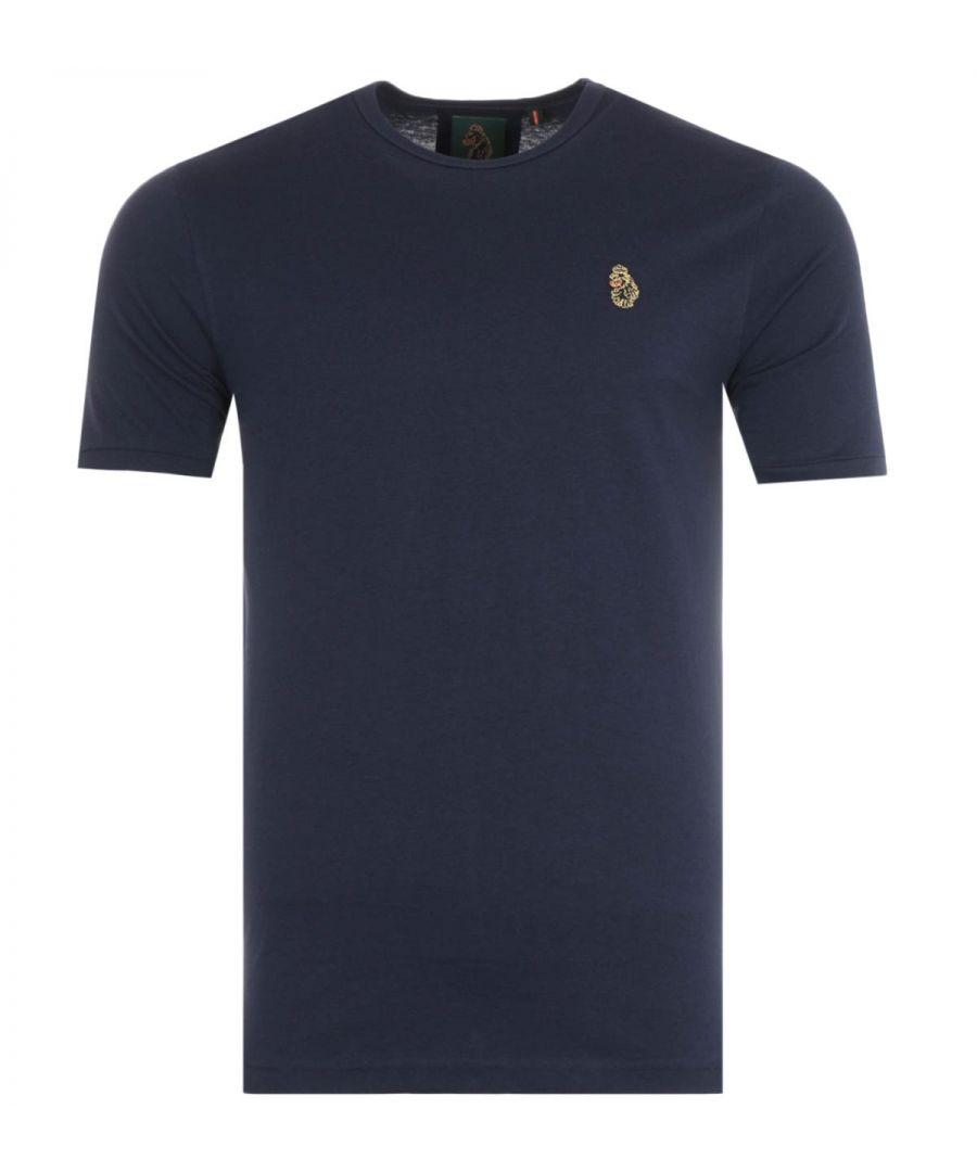 Image for Luke 1977 Traff Short Sleeve T-Shirt - Navy