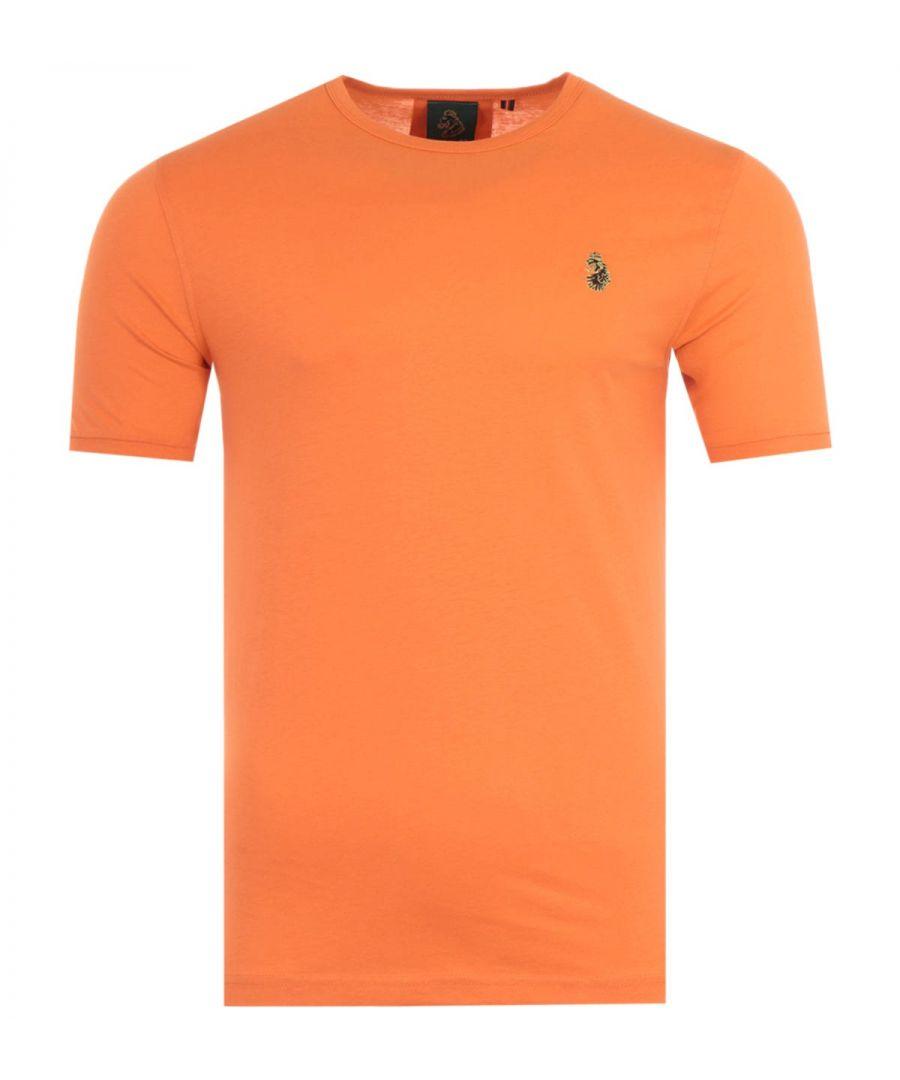 Image for Luke 1977 Traff Short Sleeve T-Shirt - Dark Peach