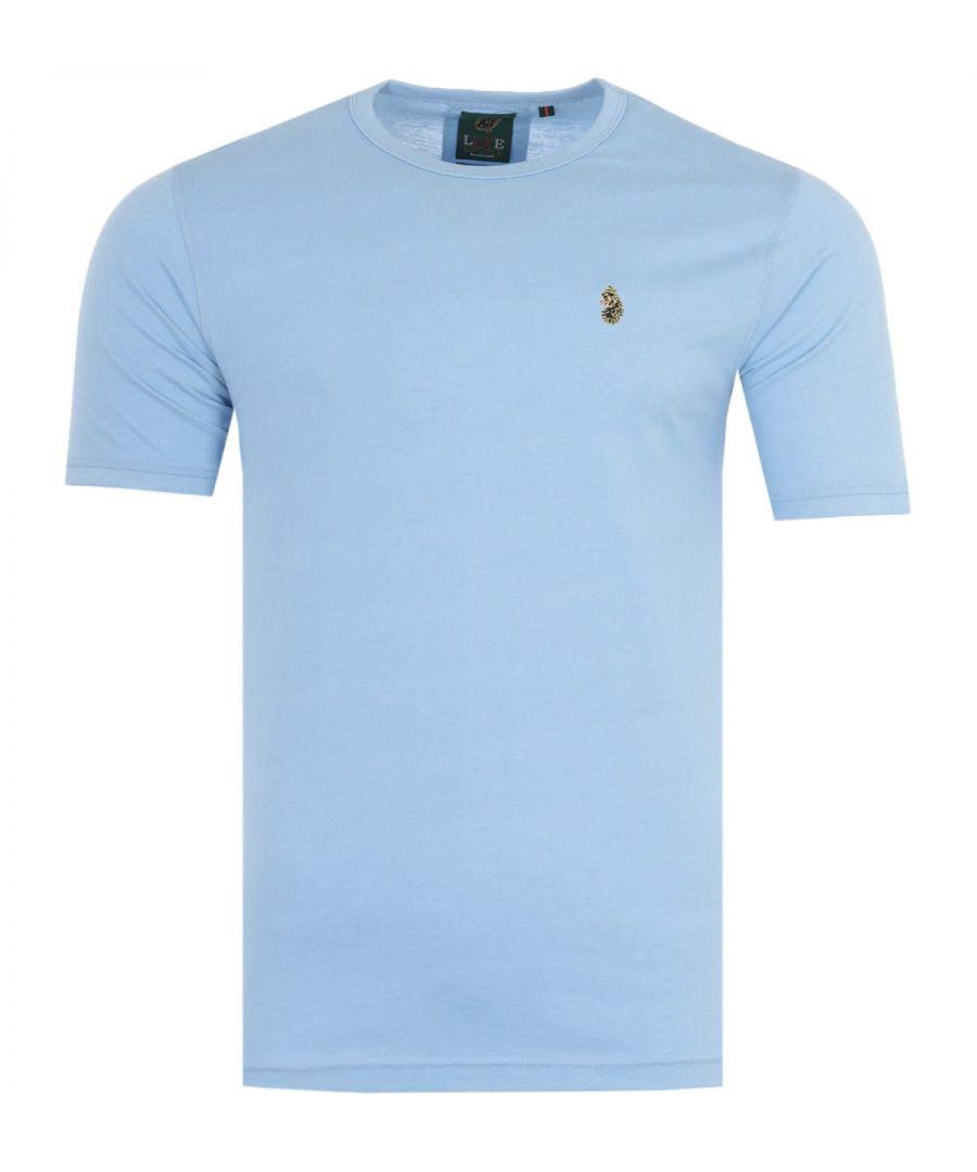 Image for Luke 1977 Traff Short Sleeve T-Shirt - Marl Light Sky