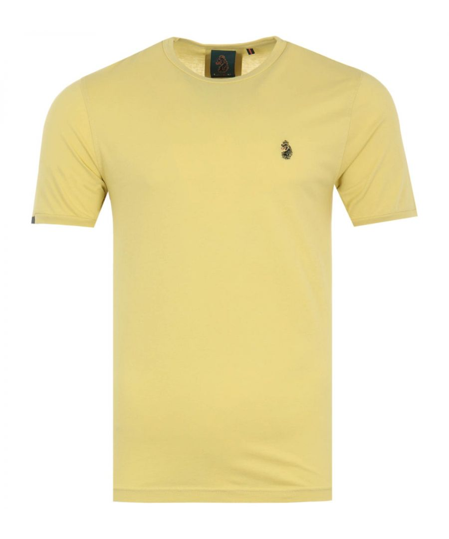 Image for Luke 1977 Traff Short Sleeve T-Shirt - Powder Sulphur