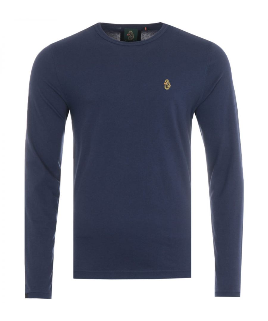 Image for Luke 1977 Traff Long Sleeve T-Shirt - Navy