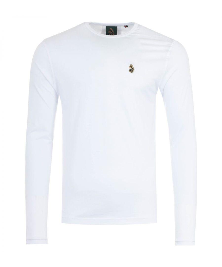 Image for Luke 1977 Traff Long Sleeve T-Shirt - White