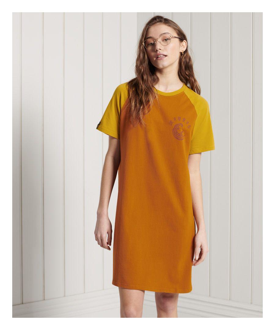 Image for Superdry Boho T-shirt Dress