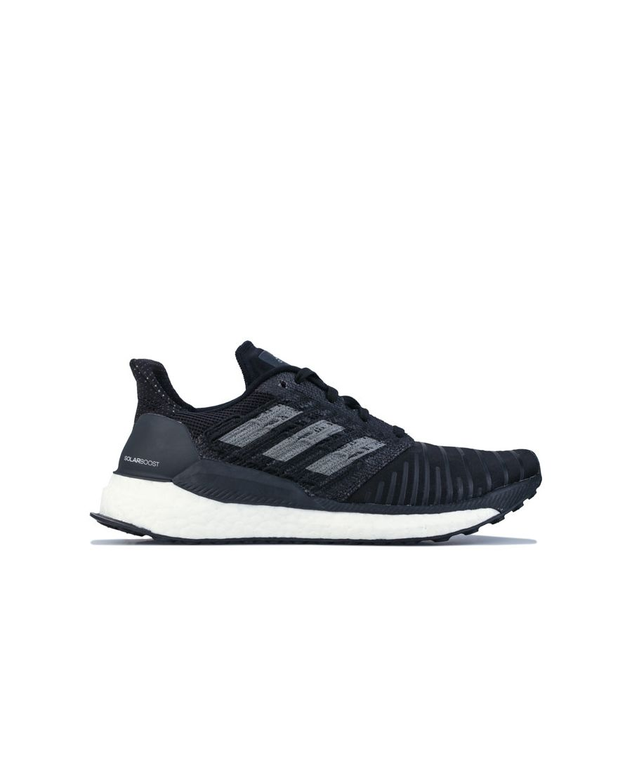 Image for Women's adidas Solar Boost Running Shoes in Black