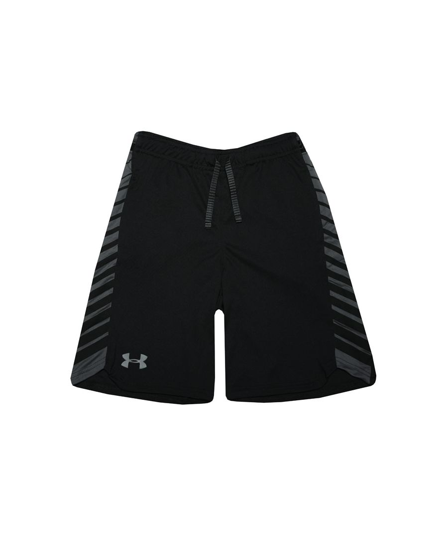 Image for Boys' Under Armour Junior Mk1 Shorts In Black