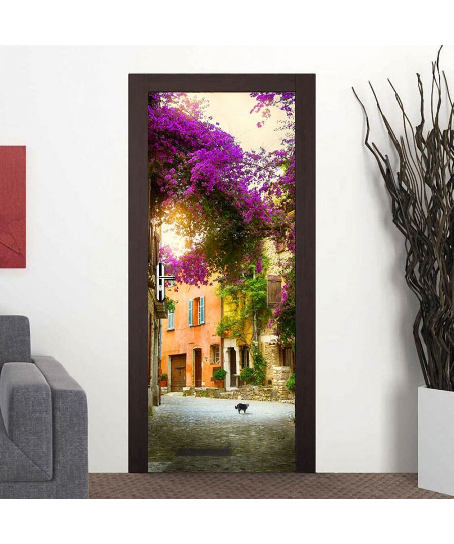 Image for Door Mural Spring Garden Office Decor Home Decoration Self-Adhesive Stickers