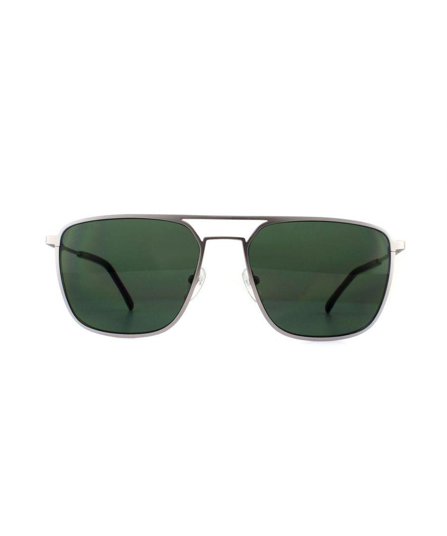 Image for Lacoste Sunglasses L194S 035 Silver Green