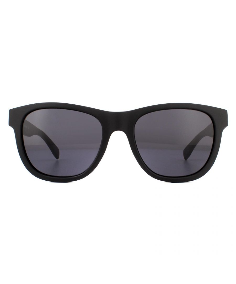 Image for Lacoste Sunglasses L848S 001 Matte Black Grey