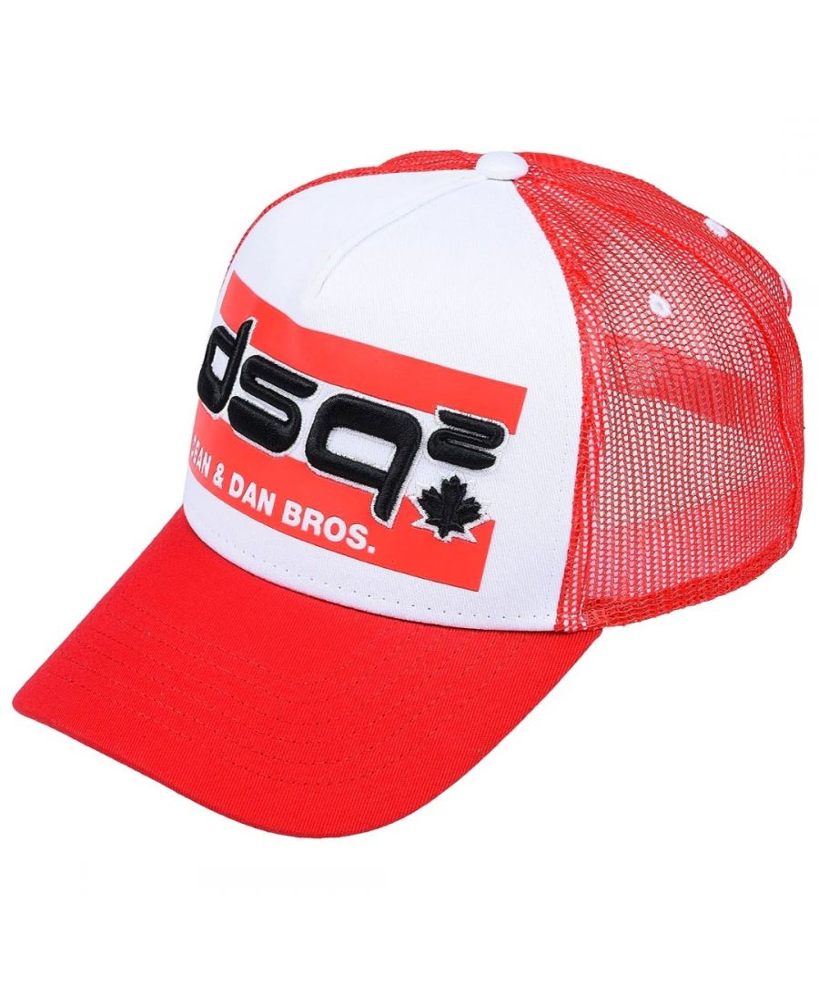 Image for Dsquared2 Dean and Dan DSQ2 Red Cap
