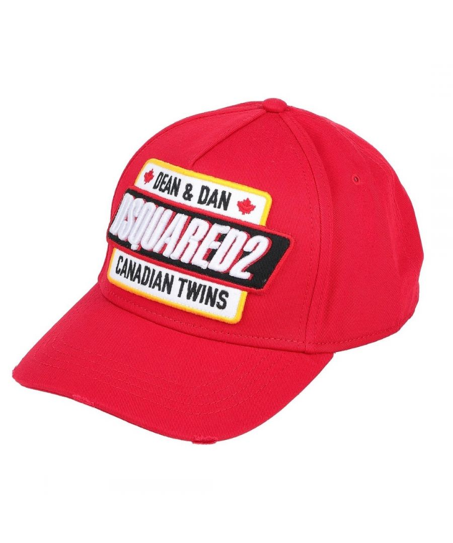 Image for Dsquared2 Canadian Twins Red Cap