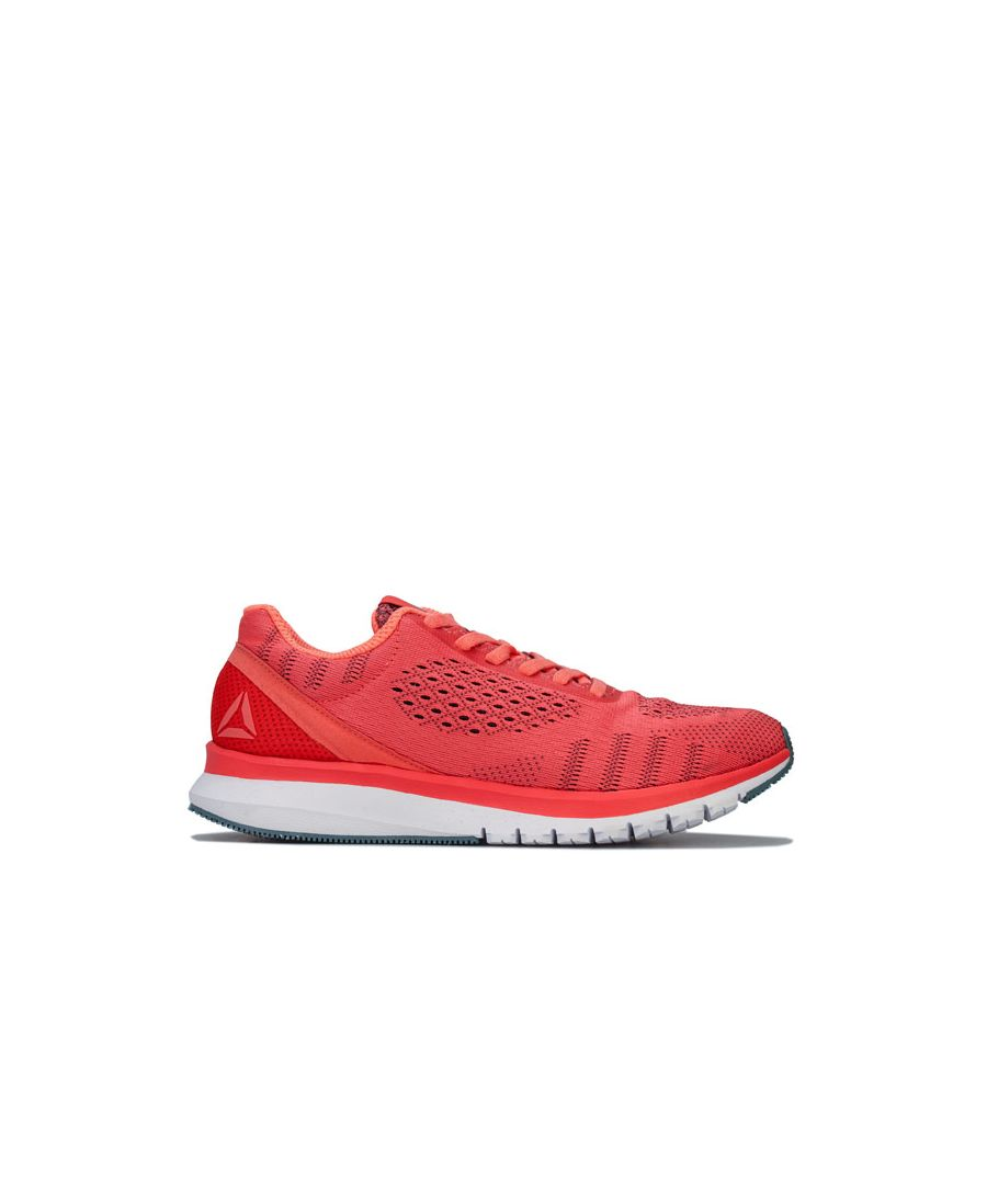 Image for Women's Reebok Print Smooth Ultk Running Shoes in Coral