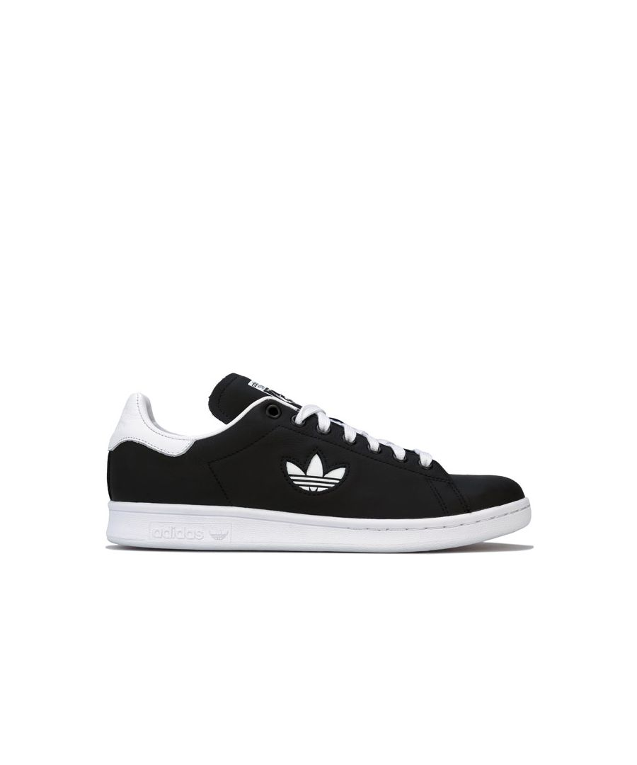 Image for Men's adidas Originals Stan Smith Trainers in Black