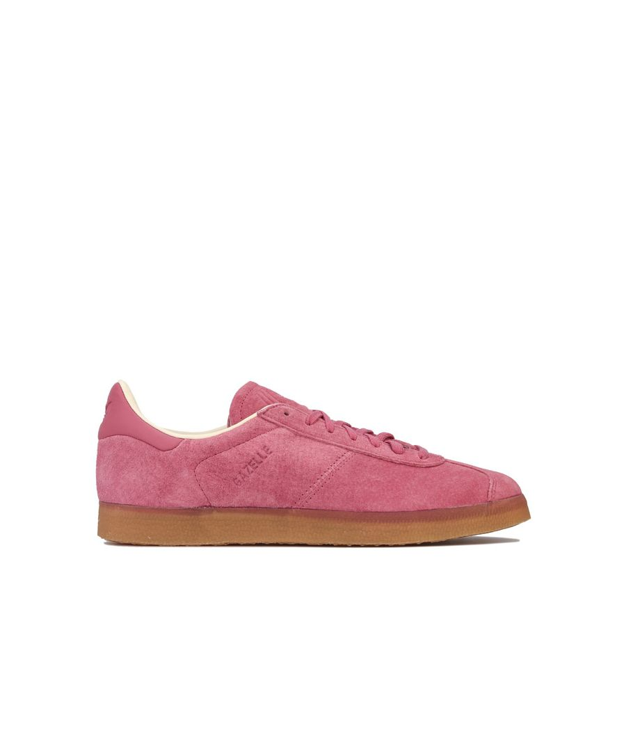 Image for Men's adidas Originals Gazelle Trainers in Pink