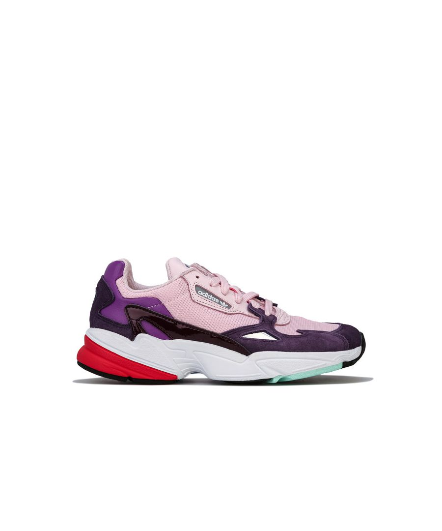 Image for Women's adidas Originals Falcon Trainers in Pink