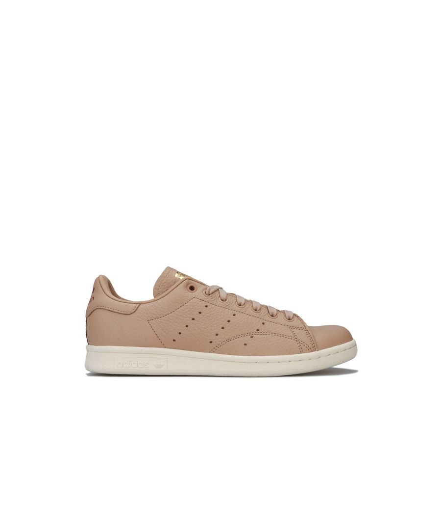 Image for Women's adidas Originals Stan Smith Trainers in Nude