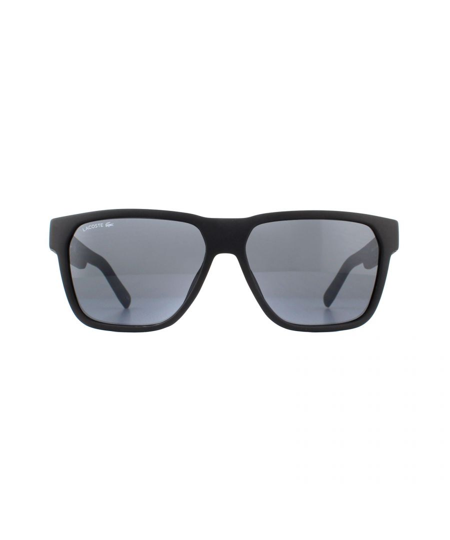 Image for Lacoste Sunglasses L867S 002 Matte Black Grey