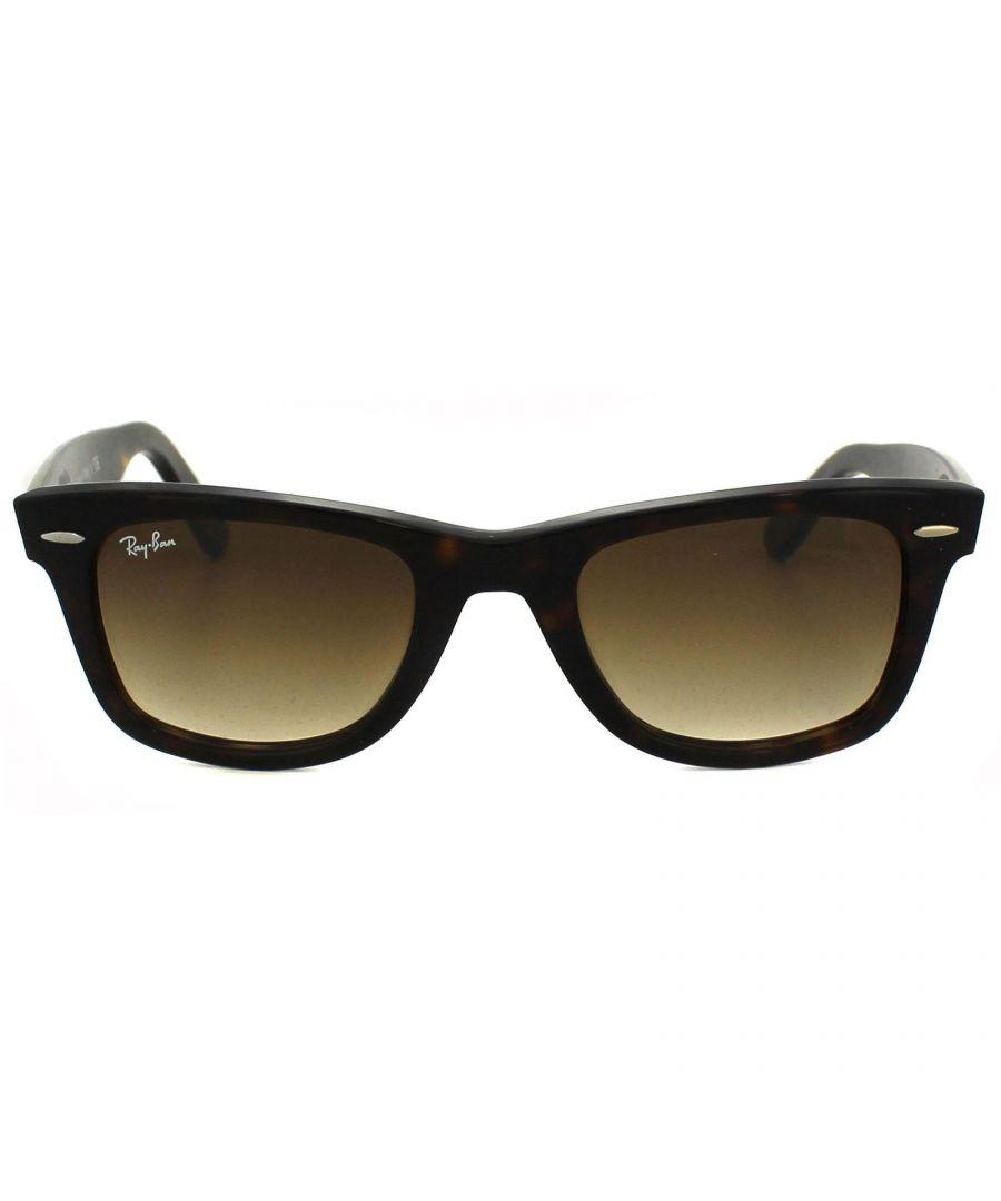 Image for Ray-Ban Sunglasses Wayfarer 2140 902/51 Havana Brown Gradient Medium 50mm