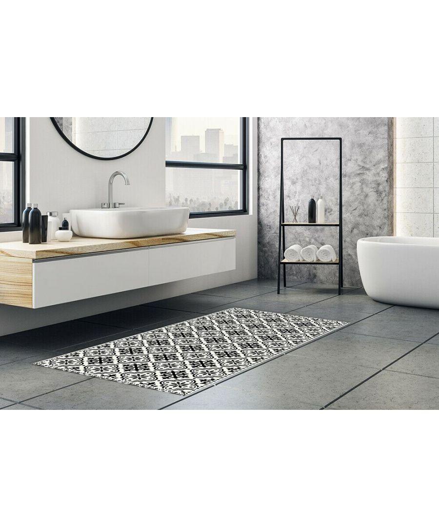 Image for WFM6213 - Spanish Tiles Pattern Mat 66 x 120 cm