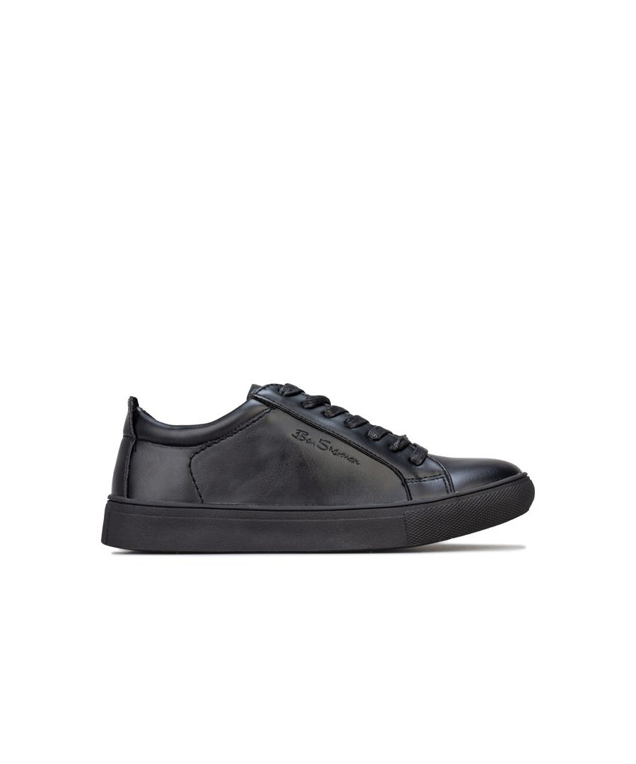 Image for Boy's Ben Sherman Children Trick Trainers in Black