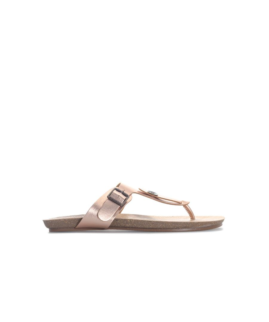 Image for Women's Blowfish Malibu Greco Sandals in Rose Gold