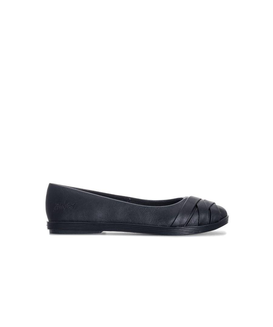 Image for Women's Blowfish Malibu Gabia Ballet Shoes in Black