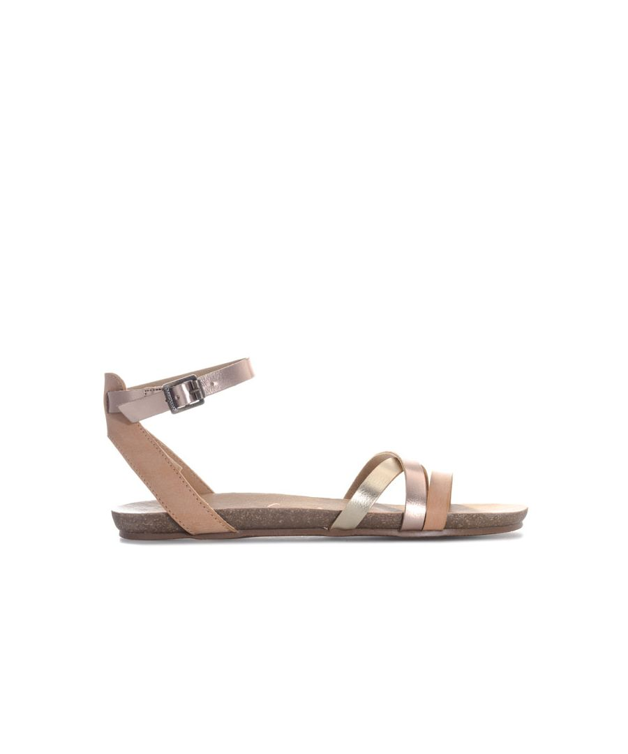 Image for Women's Blowfish Malibu Girry Sandals in Rose Gold