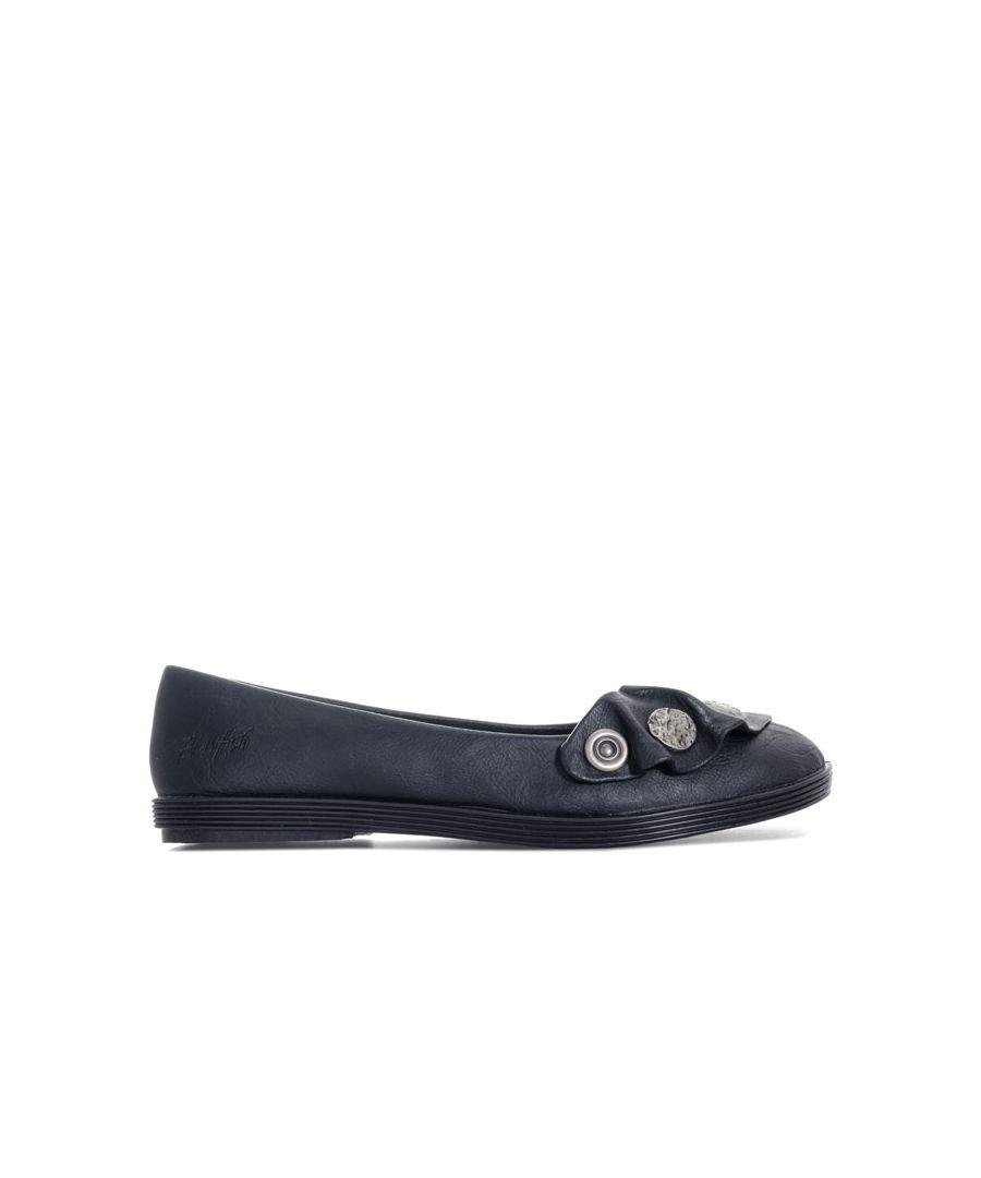 Image for Women's Blowfish Malibu Grahm Ballet Shoes in Black