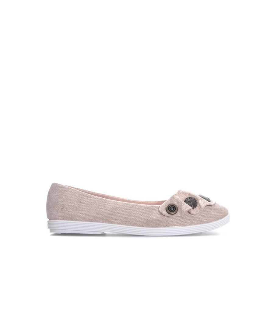 Image for Women's Blowfish Malibu Grahm Ballet Shoes in Dusky Pink
