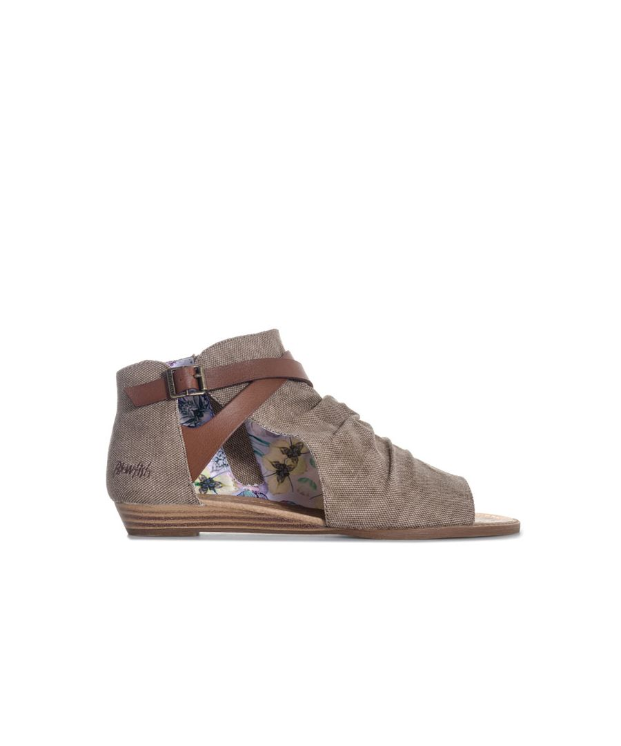 Image for Women's Blowfish Malibu Bess Ankle Sandals in Tan