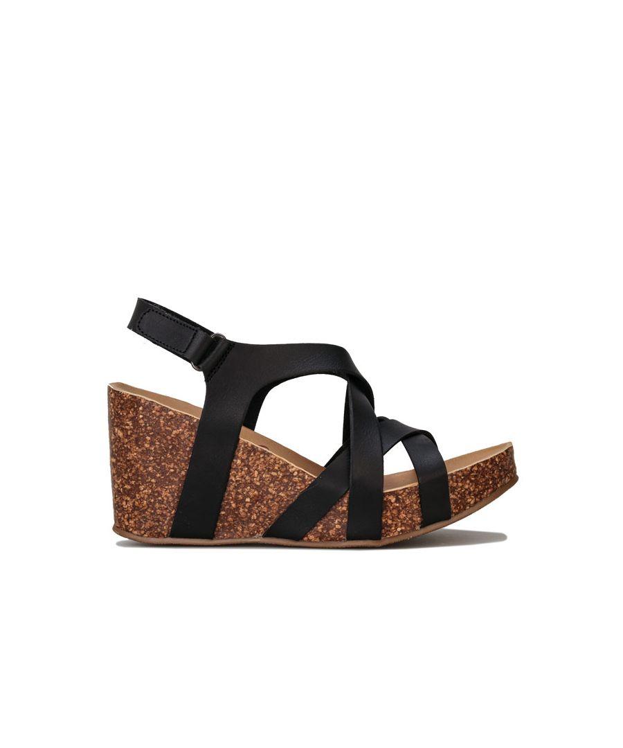 Image for Women's Blowfish Malibu Henrietta Platform Sandals in Black