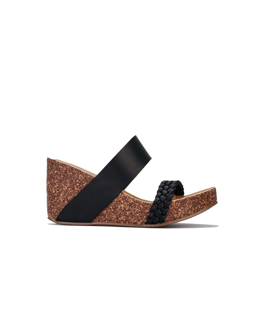 Image for Women's Blowfish Malibu Hickary Strap Sandals in Black