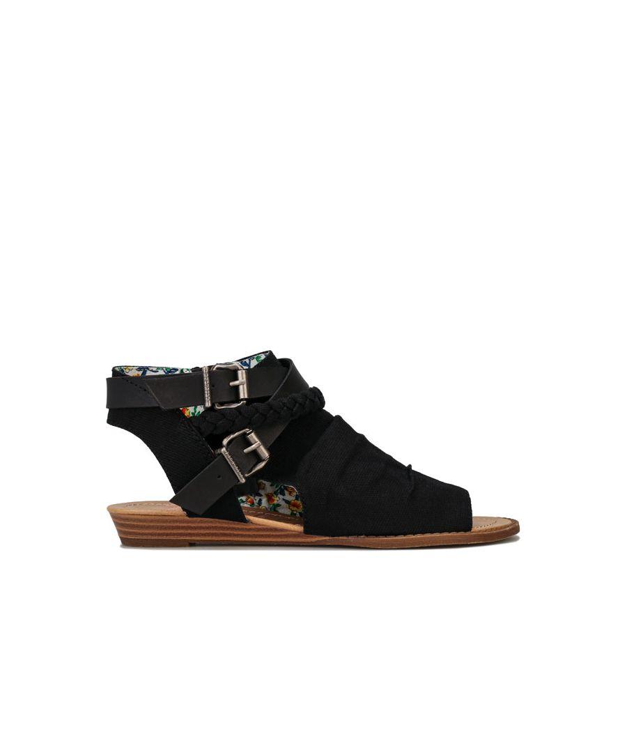 Image for Women's Blowfish Malibu Besa Ankle Sandals in Black