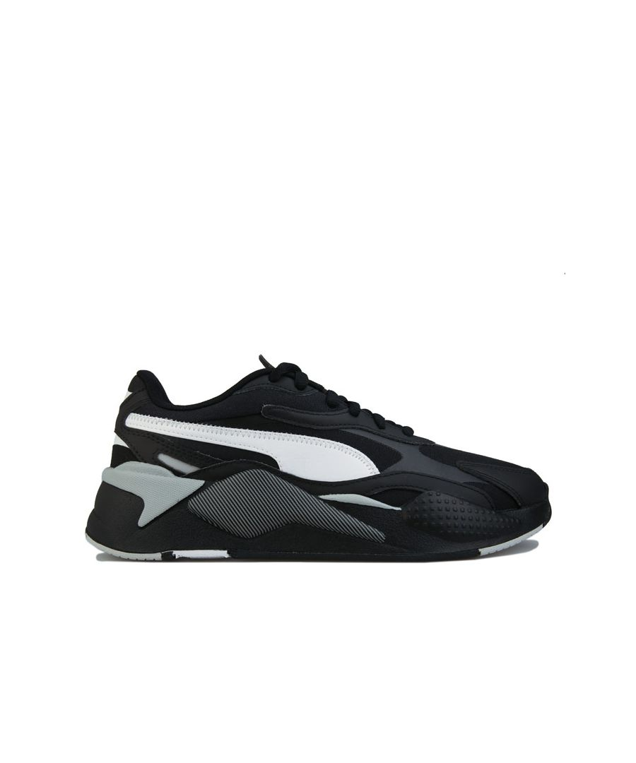 Image for Men's Puma RS-X3 Accent Trainers in Black