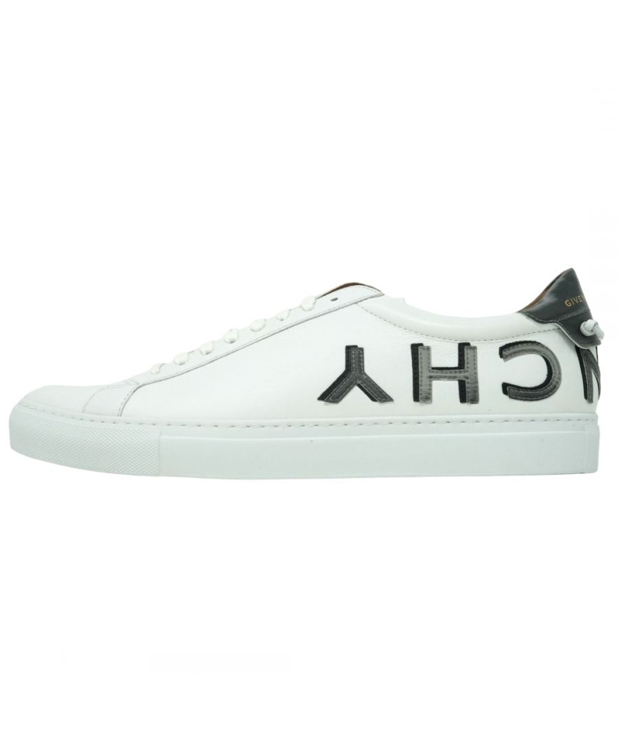 Image for Givenchy Urban Street Sneaker Reverse Logo White Trainers